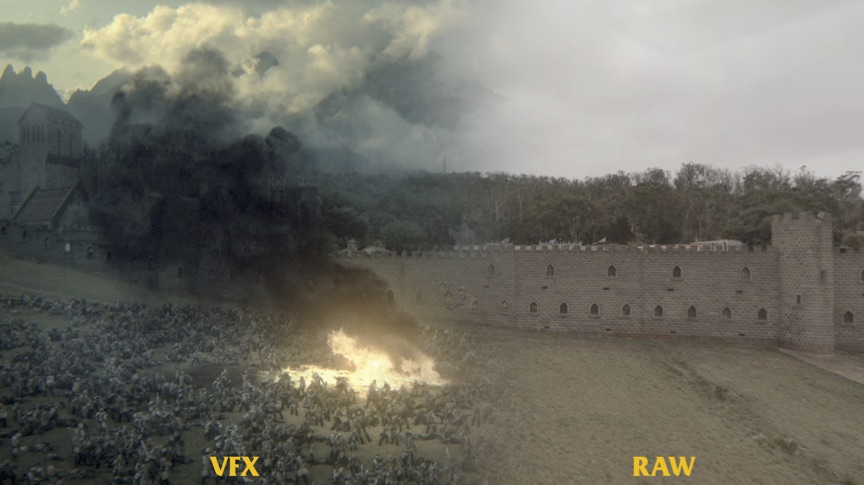 Before & After VFX.