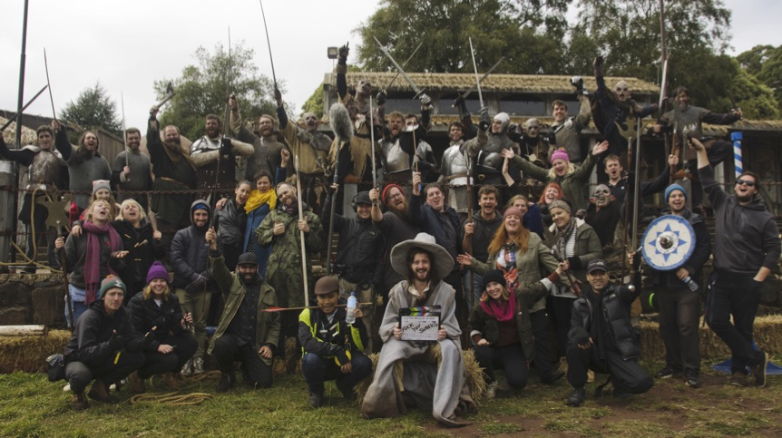 The Cast & Crew of The Wizards of Aus.