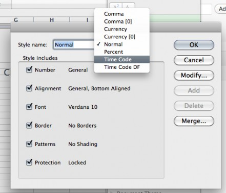 Calculating Timecode in Excel • LateNite Films Blog